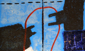 Face Minerale Diptych 1991 Limited Edition Print by James Coignard