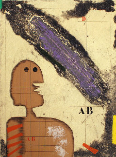 Presence 1986 Limited Edition Print - James Coignard