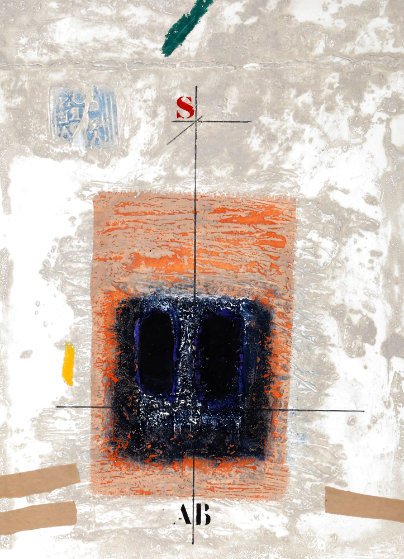 Deux Noirs En Stratification 1988 Limited Edition Print by James Coignard