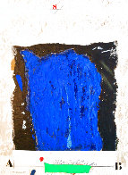 Etude Masse Bleue Limited Edition Print by James Coignard - 0