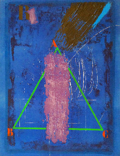 Vertical Violette 1980 Limited Edition Print - James Coignard