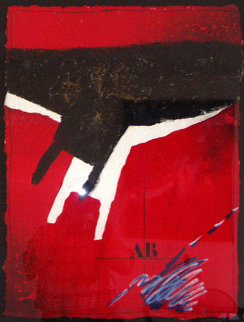 Chute Sur Rouge 1991 Limited Edition Print - James Coignard