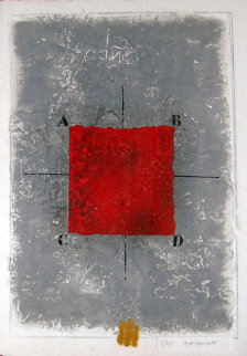 Les Positionments Rouge Limited Edition Print by James Coignard