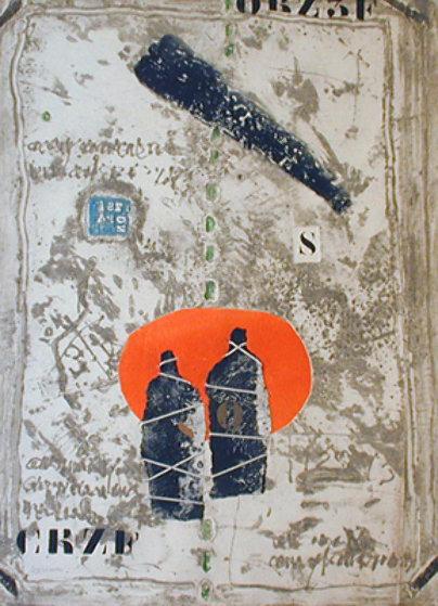 Les  Jeuneaux 1969 Limited Edition Print by James Coignard