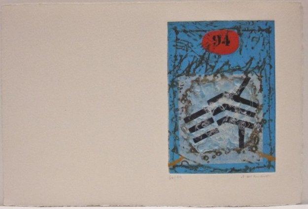 Carte De Voeux Limited Edition Print by James Coignard
