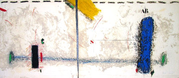Bleu Tension Horizontale - Diptyque HC 30x70 Huge Limited Edition Print - James Coignard