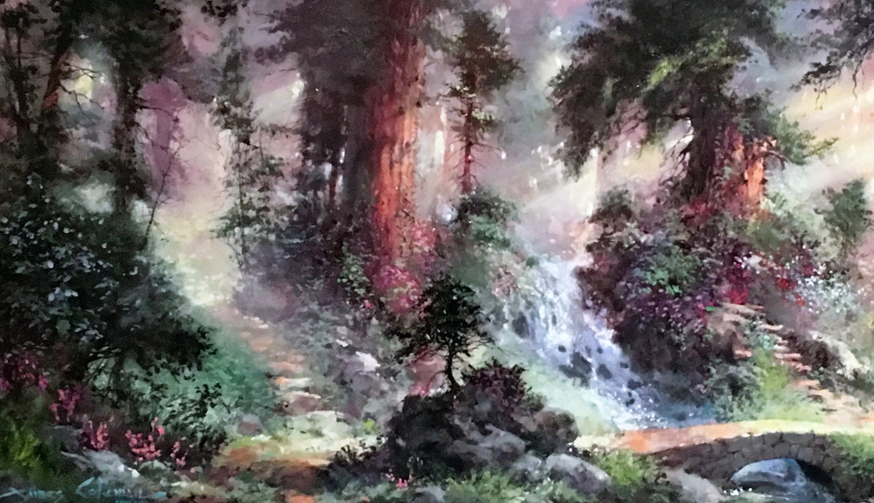 Alone in the Woods Embellished 2008 Limited Edition Print by James Coleman