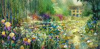 Summer's Bloom Embellished 2006 Limited Edition Print by James Coleman - 1