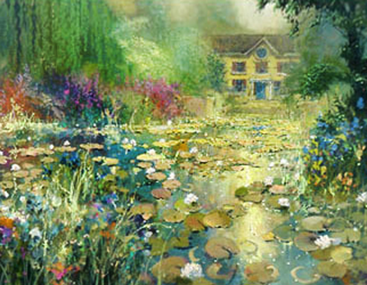Summer's Bloom Embellished 2006 Limited Edition Print by James Coleman