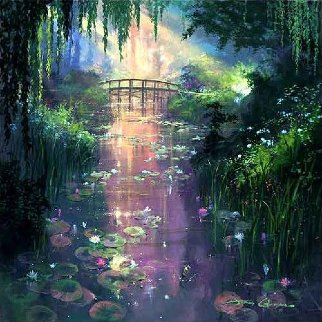 Pond of Enchantment Limited Edition Print by James Coleman