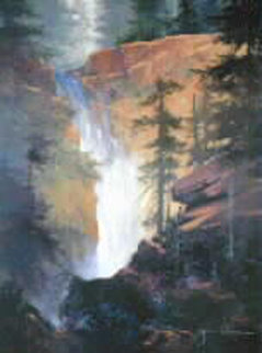 Thundering Falls 1993 Limited Edition Print - James Coleman