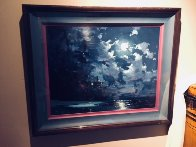 Midnight Surf 1990 Embellished Limited Edition Print by James Coleman - 3