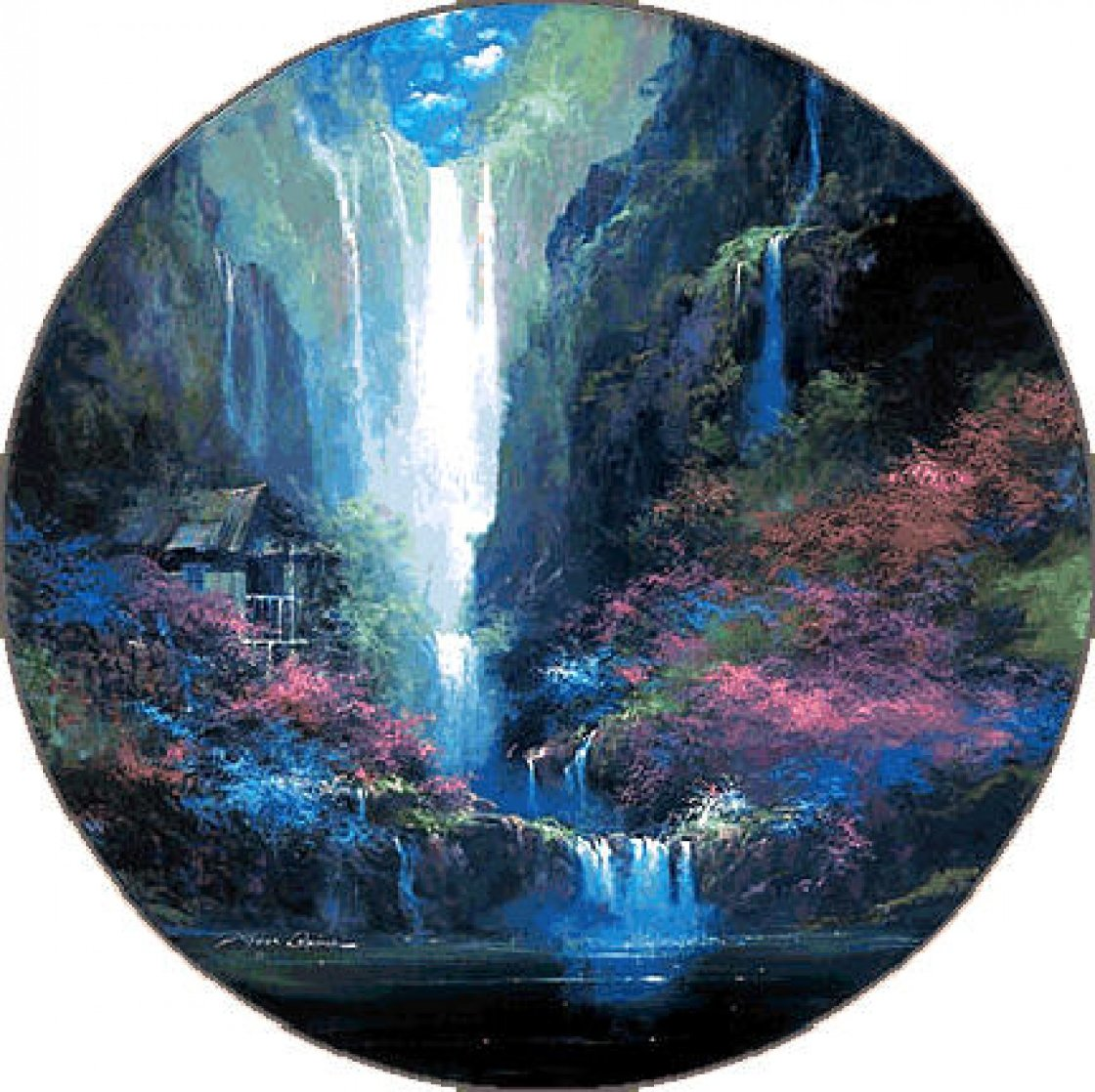 Enchanted Hideaway 1994 Limited Edition Print by James Coleman