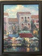Nightfall 2009 14x11 Original Painting by James Coleman - 1