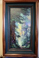 In the Warmth of Spring 39x24 Original Painting by James Coleman - 1