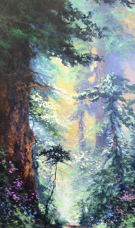 In the Warmth of Spring 39x24 Original Painting - James Coleman