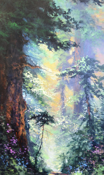 In the Warmth of Spring 39x24 Original Painting by James Coleman