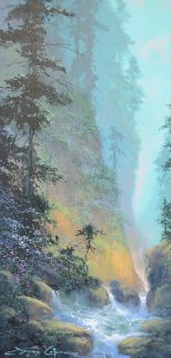 Sounds of Serenity 1998 40x26 Original Painting by James Coleman