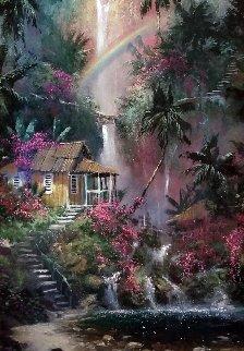 Rainbow Falls AP 2004 Embellished Limited Edition Print - James Coleman