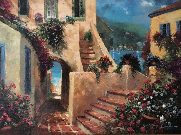 Steps By the Sea 2004 Limited Edition Print by James Coleman