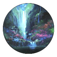 Enchanted Hideaway 1994 49x38  Huge Limited Edition Print by James Coleman - 0