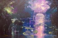 Bridge Over Silent Water (#1) 1999 41x49 Super Huge  Limited Edition Print by James Coleman - 3
