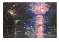 Bridge Over Silent Water (#1) 1999 41x49 Super Huge  Limited Edition Print by James Coleman - 2