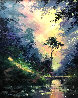 Secluded Path 28x24 Original Painting by James Coleman - 0