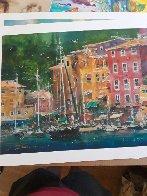 Portofino Bay 2009 Limited Edition Print by James Coleman - 1