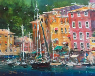 Portofino Bay 2009 Limited Edition Print by James Coleman - 0
