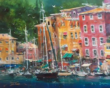 Portofino Bay 2009 Limited Edition Print by James Coleman