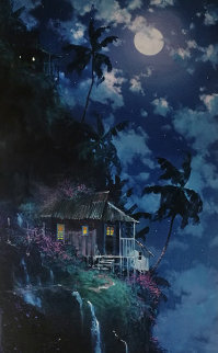 Midnight Peace AP 1997 Huge  Limited Edition Print - James Coleman