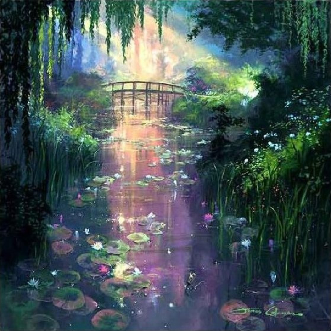 Pond of Enchantment 2000 Huge Limited Edition Print by James Coleman