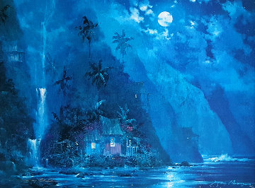 Night Paradise 2000 Limited Edition Print by James Coleman