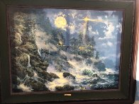 Warmth of the Beckoning Light 2006 Embellished Limited Edition Print by James Coleman - 1