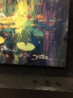 Soft Light on a Pond 2018 Embellished Limited Edition Print by James Coleman - 3