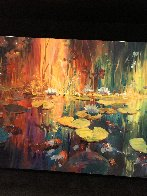Soft Light on a Pond 2018 Embellished Limited Edition Print by James Coleman - 2