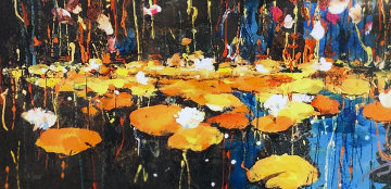 Lilypond of Light 2018 Embellished Limited Edition Print - James Coleman