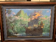 Pan on Board AP Disney Limited Edition Print by James Coleman - 1