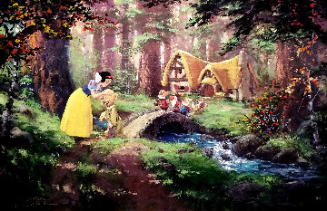 Sweet Goodbye 2008 Disney Limited Edition Print - James Coleman
