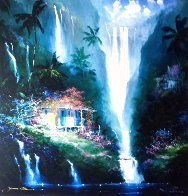 Surrender to Paradise 1993 Huge Limited Edition Print by James Coleman - 0