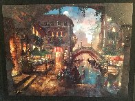 Venice Twilight 2019 Embellished Limited Edition Print by James Coleman - 2