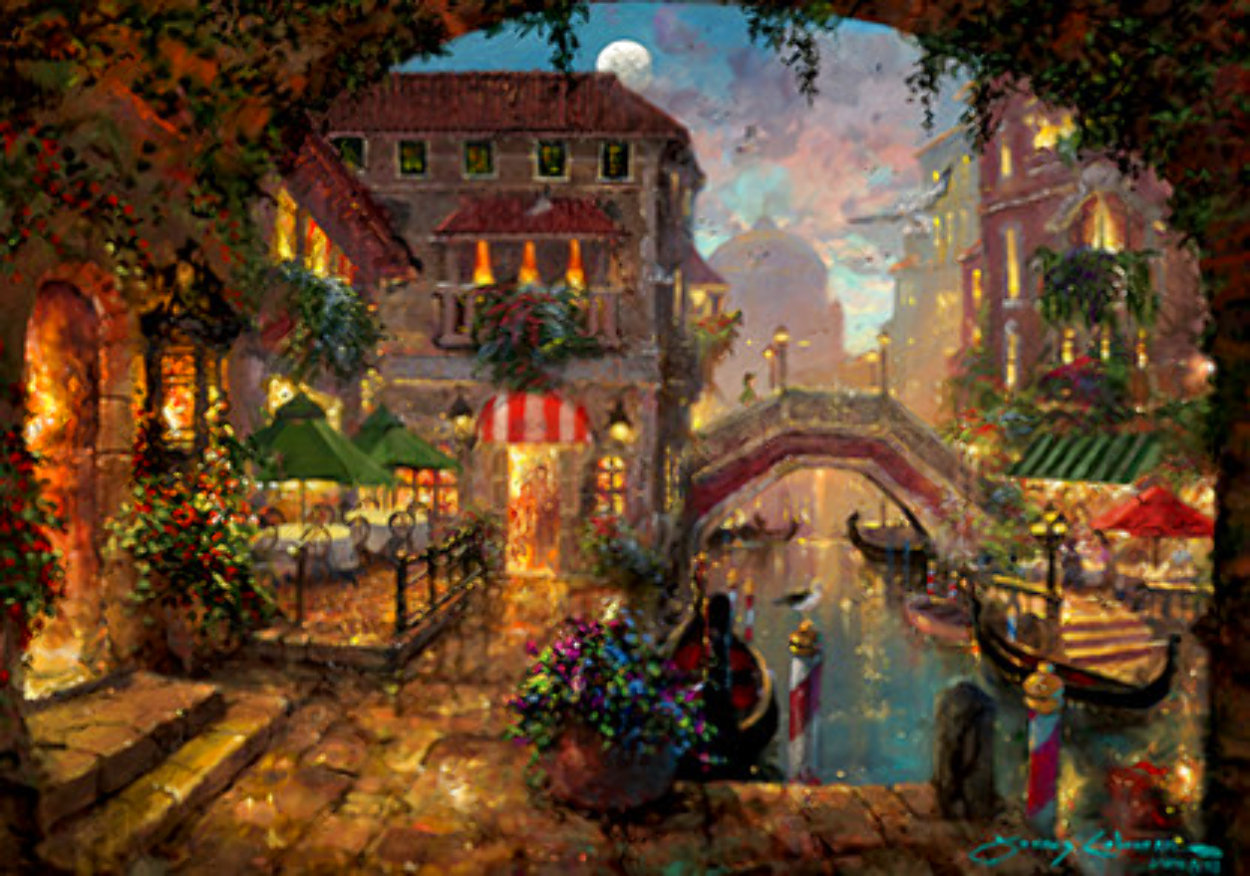 Venice Twilight 2019 Embellished Limited Edition Print by James Coleman