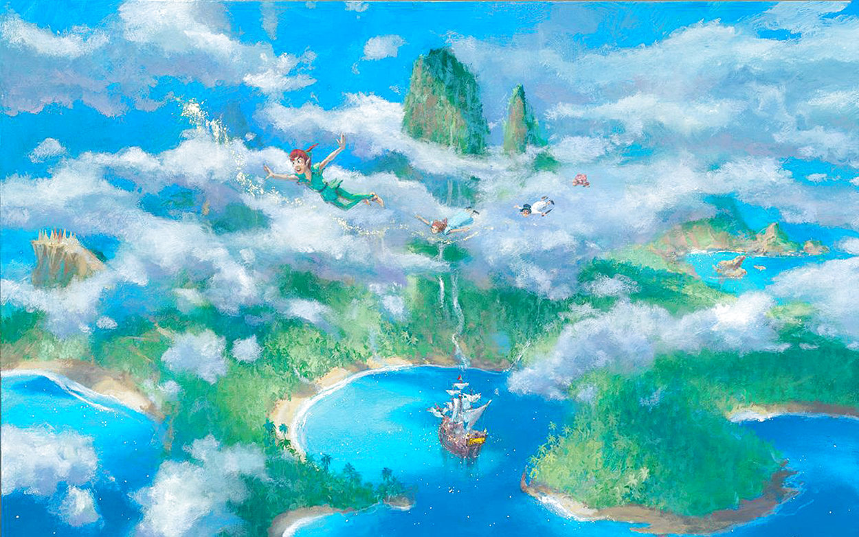 First Look At Neverland Limited Edition Print by James Coleman