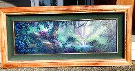 Along a Mystical Path 2000 20x48 Huge Original Painting by James Coleman - 1