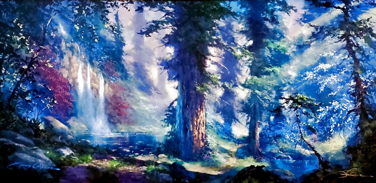 Sunlit Dream Embellished Limited Edition Print by James Coleman