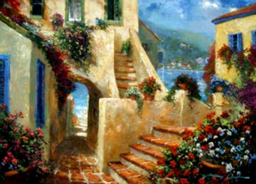 Steps By the Bay Limited Edition Print - James Coleman