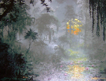 In the Glow of the Midnight Moon AP Embellished 2004 Limited Edition Print by James Coleman