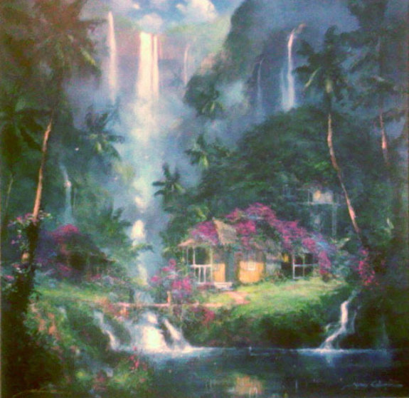 Aloha Spirit 2003 Embellished Limited Edition Print by James Coleman