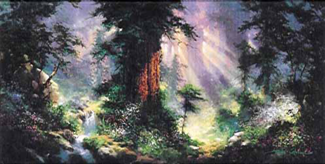 Living Nature's Peace 1996 Limited Edition Print by James Coleman